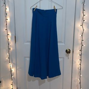 Vintage Midi Tea Length Skirt